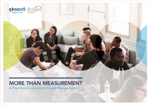 impact management measurement